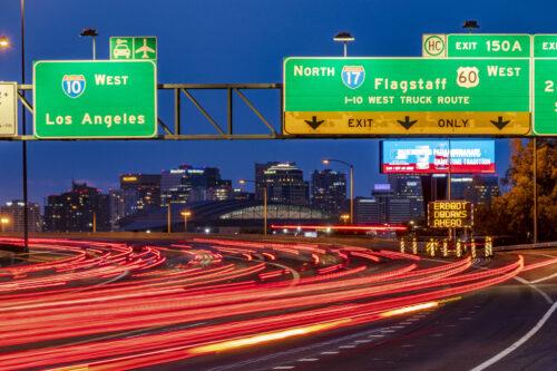 I-10 and I-17 Split Interchange