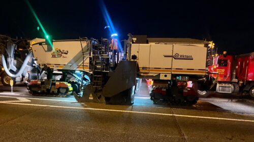 Overnight pavement removal