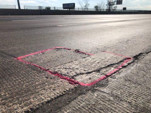 pavement repairs
