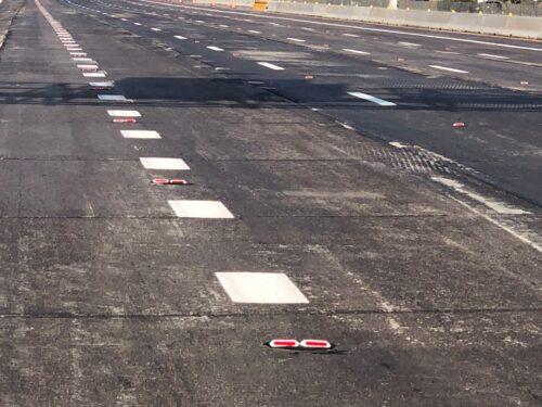 pavement striping